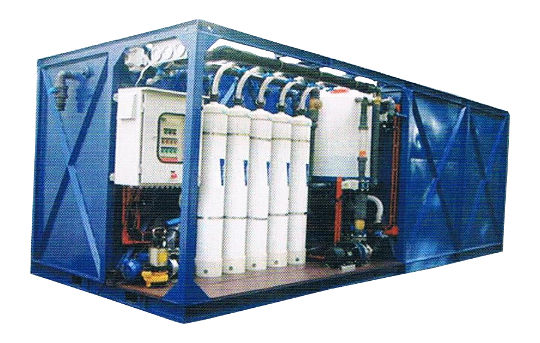 Containerised Non-Chemical Water Treatment System